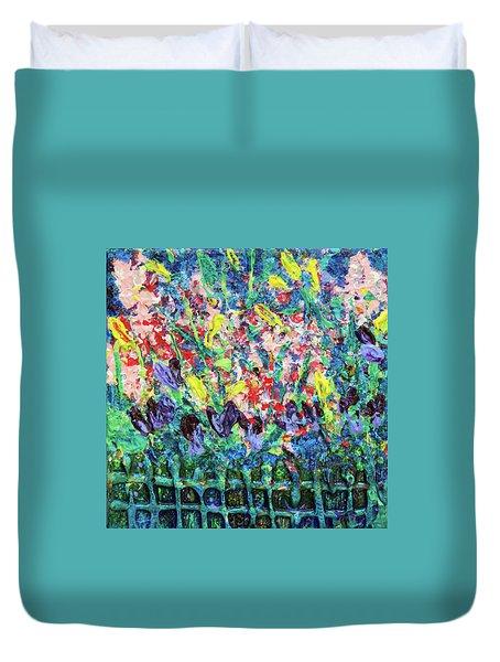 Garden Gems Duvet Cover