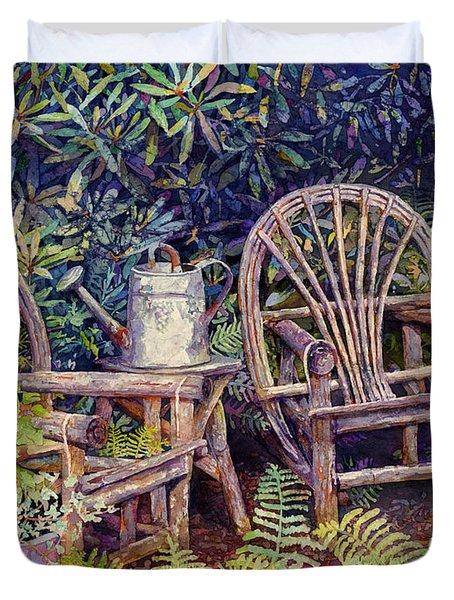 Garden Retreat Duvet Cover