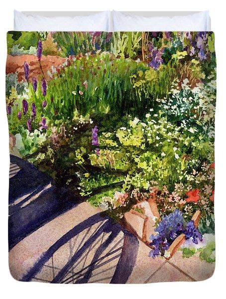 Garden Shadows II Duvet Cover