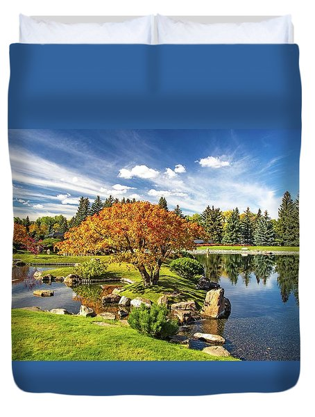 Garden Splendour Duvet Cover