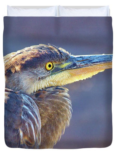 Gbh Waiting For Food Duvet Cover
