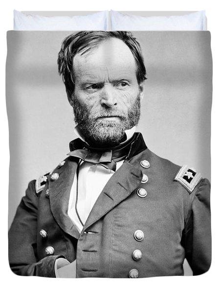 General Sherman - Hand In Coat Portrait Duvet Cover