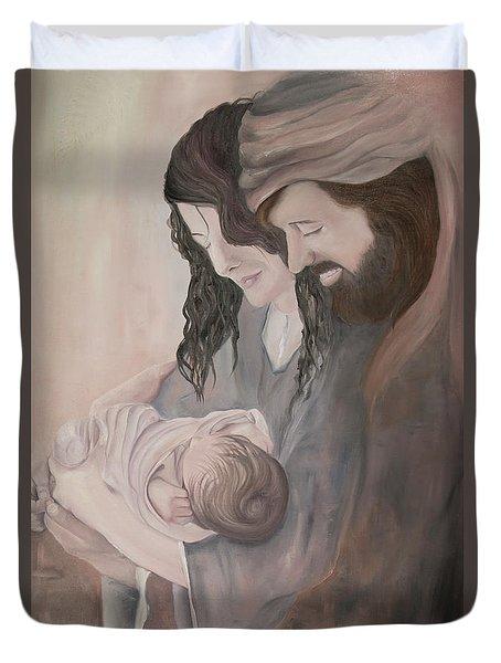 Gentle Savior Duvet Cover