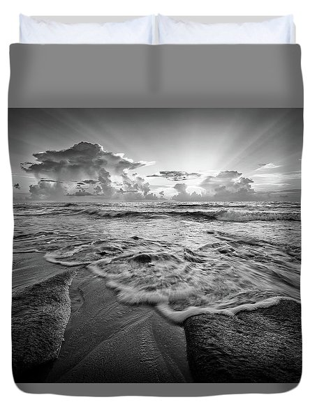 Gentle Surf Duvet Cover