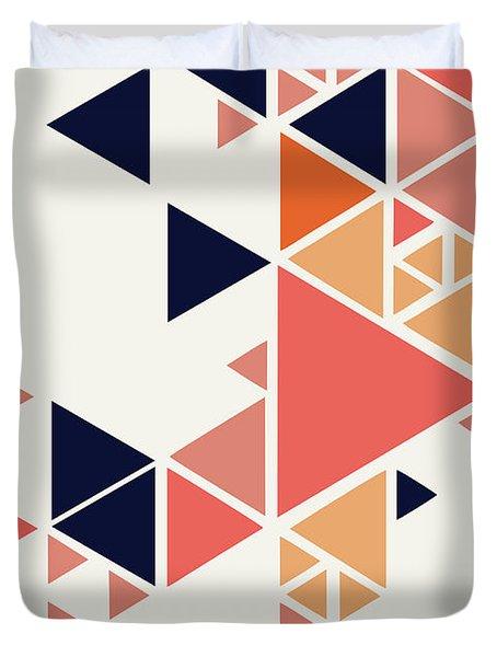 Geometric Painting 1 Duvet Cover