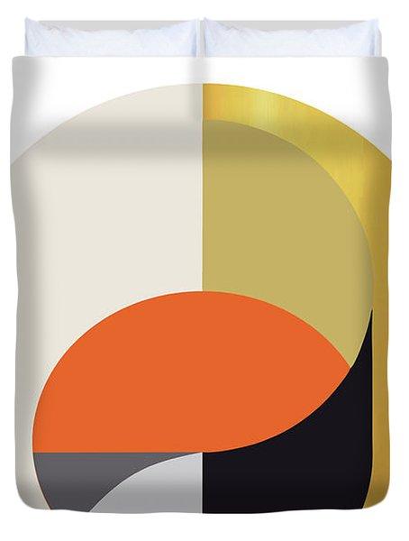 Geometric Painting 12 Duvet Cover