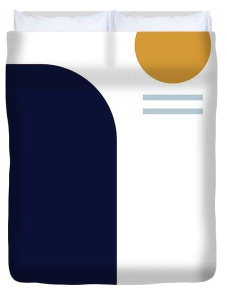 Geometric Painting 2 Duvet Cover