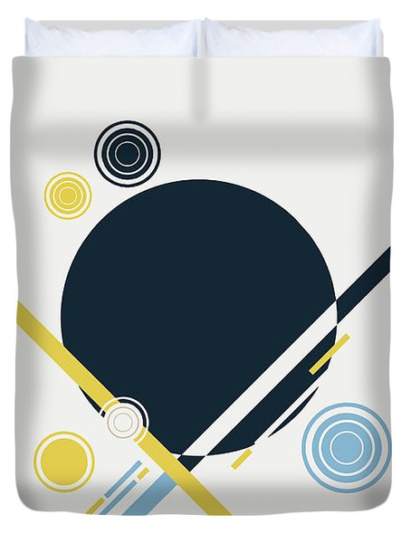 Geometric Painting 3 Duvet Cover