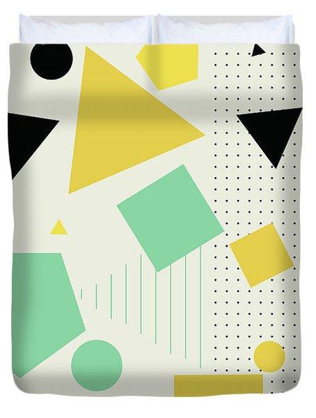 Geometric Painting 7  Duvet Cover