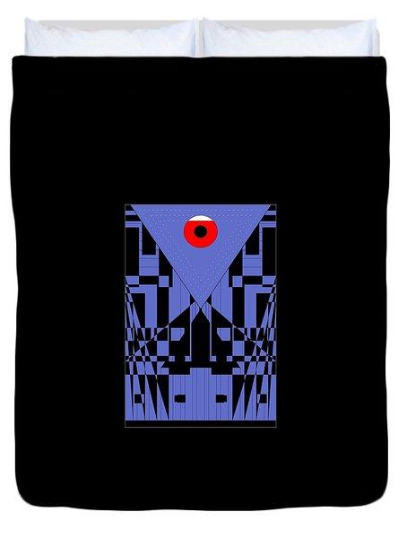 Geometric Red Dot  Duvet Cover