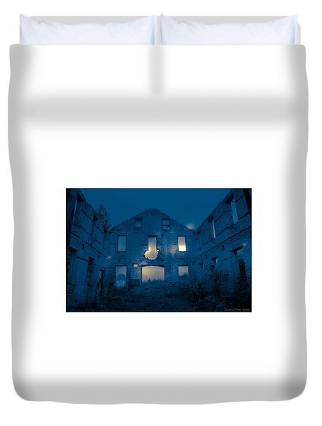 Ghost Castle Duvet Cover