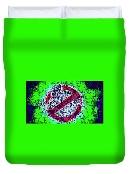 Ghostbusters Logo Duvet Cover