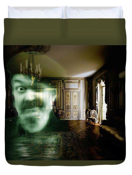 Ghost Of Dr. John Duvet Cover