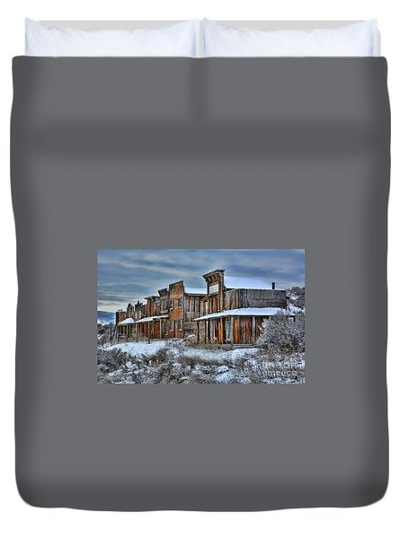 Ghost Town Duvet Cover
