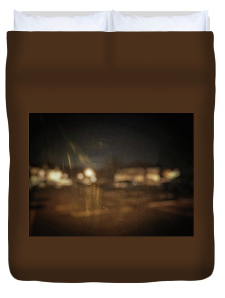 Duvet Cover featuring the photograph ghosts I by Steve Stanger