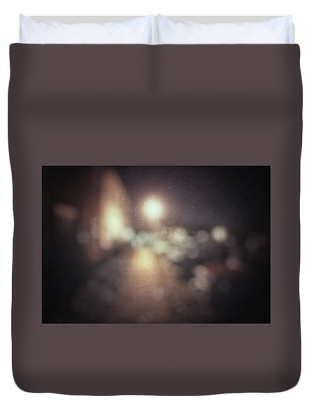 Duvet Cover featuring the photograph ghosts III by Steve Stanger