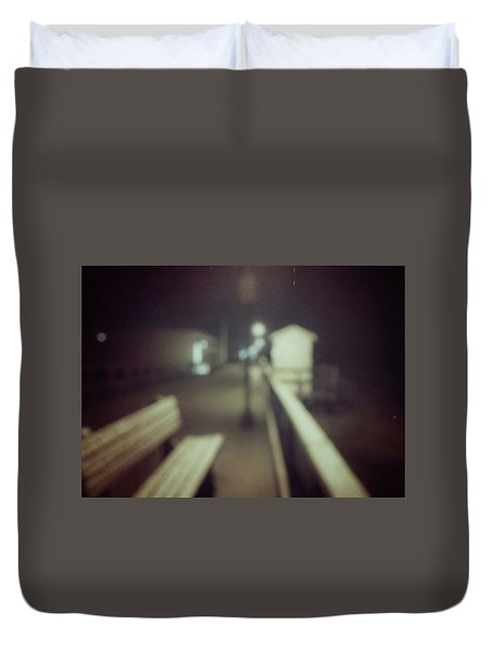 ghosts IV Duvet Cover