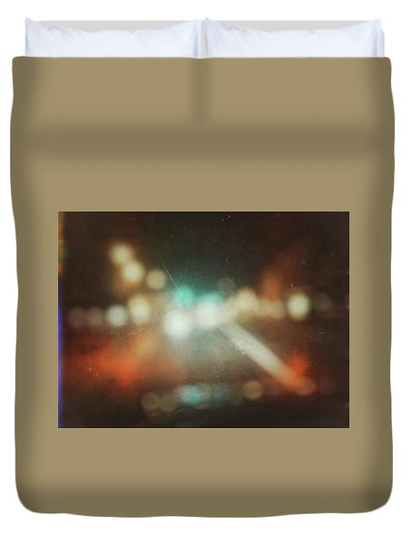 Duvet Cover featuring the photograph ghosts V by Steve Stanger
