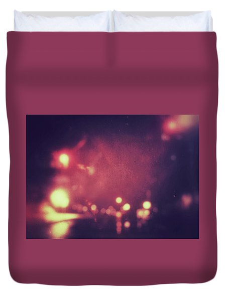 Duvet Cover featuring the photograph ghosts VI by Steve Stanger