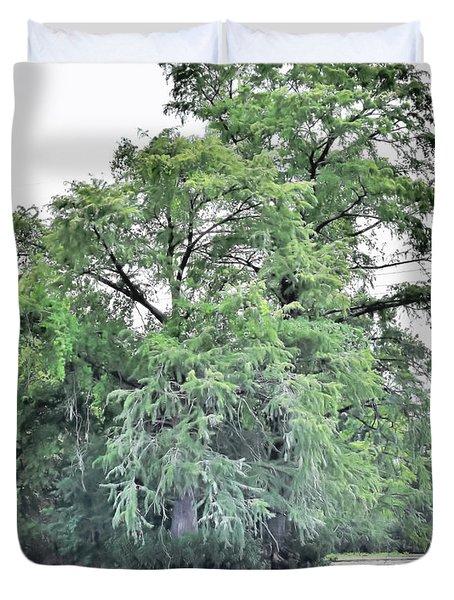 Giant River Tree Duvet Cover