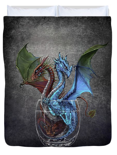 Gin And Tonic Dragon Duvet Cover