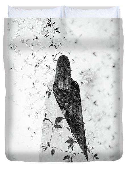 Girl #0571 Duvet Cover