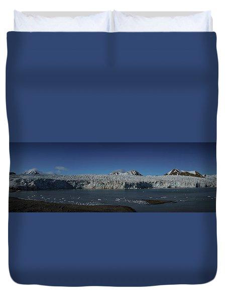 Glacier Svalbard Duvet Cover