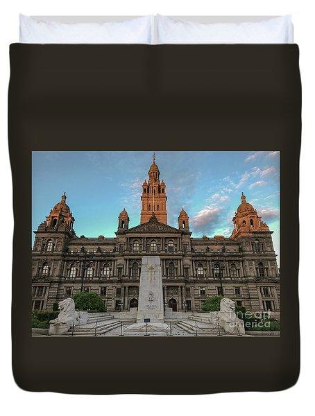 Glasgow Cenotaph Duvet Cover