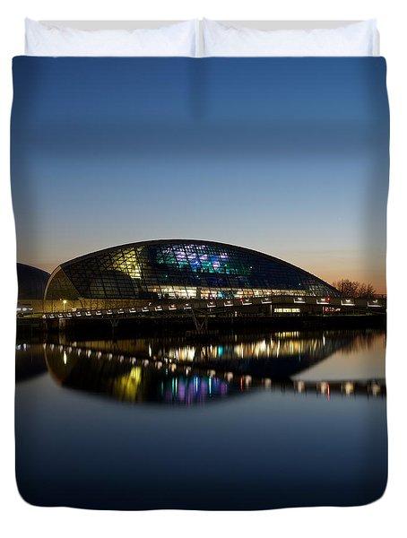 Glasgow Science Center Duvet Cover