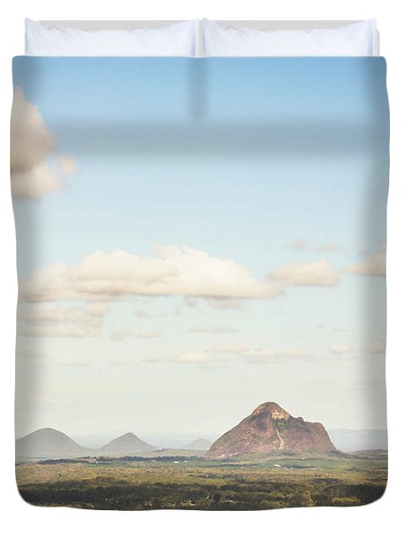 Glass House Minimalism Duvet Cover