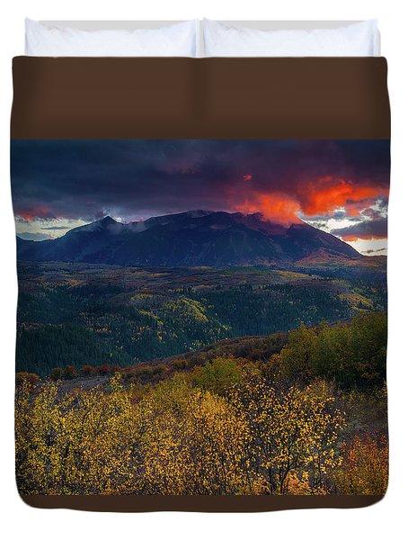 Glimpse Of Heaven Duvet Cover