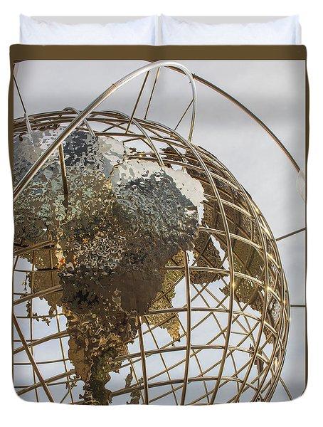 Globe 1 Duvet Cover