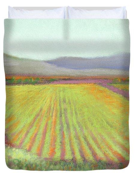 Gloria Ferrer Winery Duvet Cover