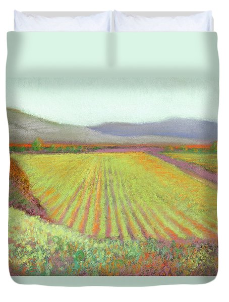 Gloria Ferrer Winery Duvet Cover