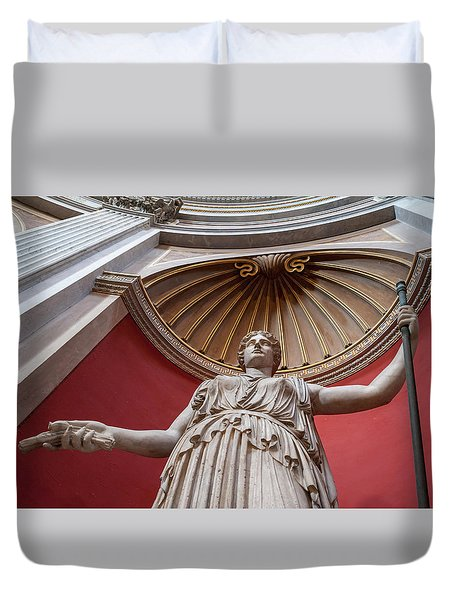 Duvet Cover featuring the photograph Goddess Of The Harvest by Steven Sparks