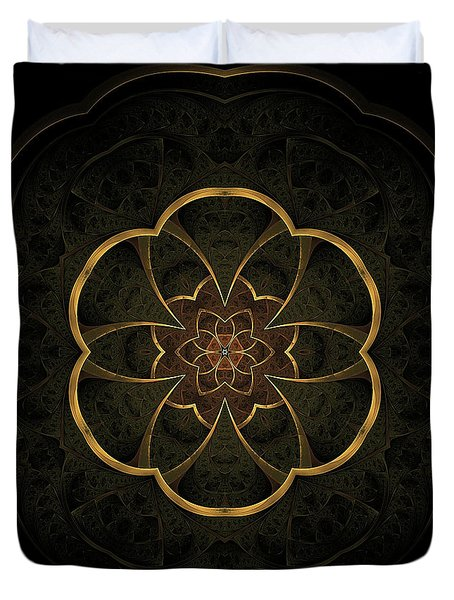 Gold Inlay Duvet Cover