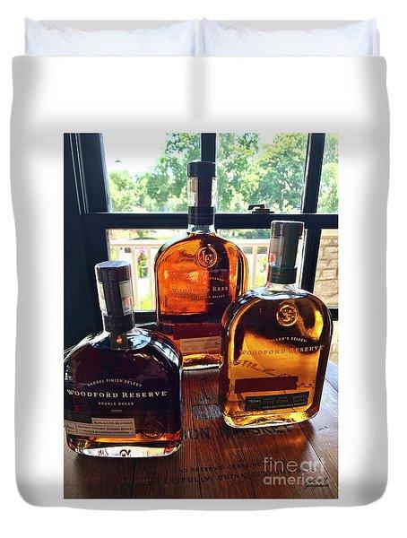 Golden Bourbon Duvet Cover