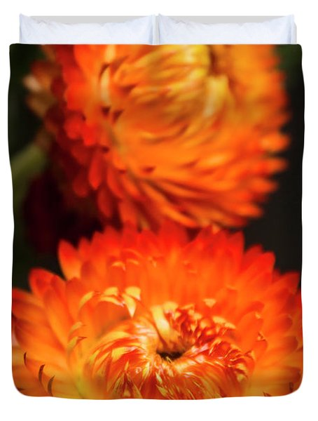 Golden Everlasting Duvet Cover