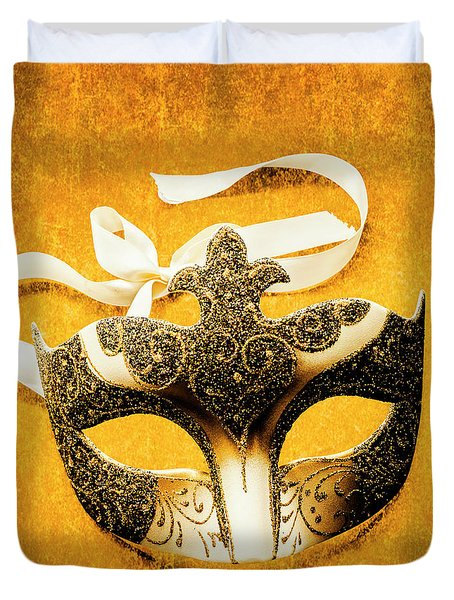 Golden Gala Duvet Cover