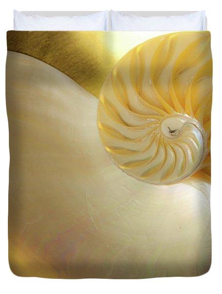 Golden_nautilus_0692 Duvet Cover