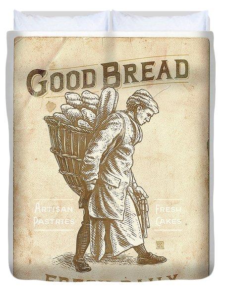 Good Bread Duvet Cover