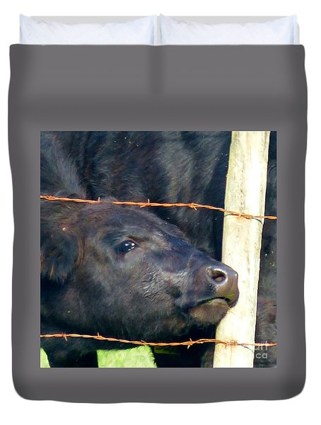 Duvet Cover featuring the photograph Good Morning by Rosanne Licciardi