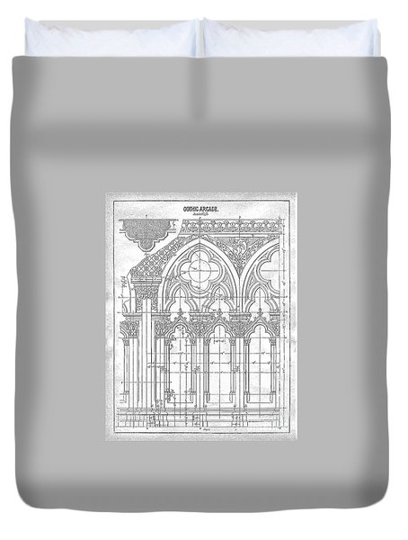 Gothic Arches Duvet Cover