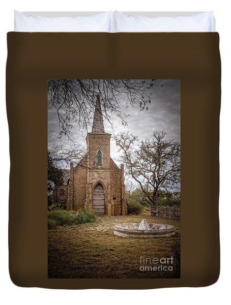 Gothic Revival Church  Duvet Cover