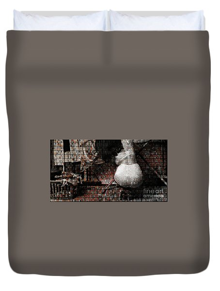 Grace Irons 40 Years Duvet Cover