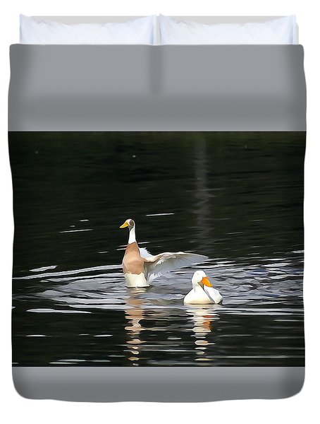 Graceous Indeed Duvet Cover