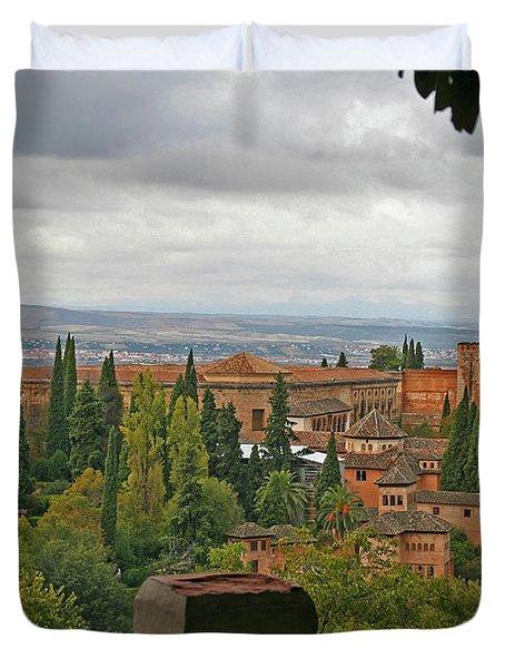 Granada, Spain - Alhambra Duvet Cover