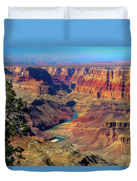 Grand Canyon Sunset Duvet Cover
