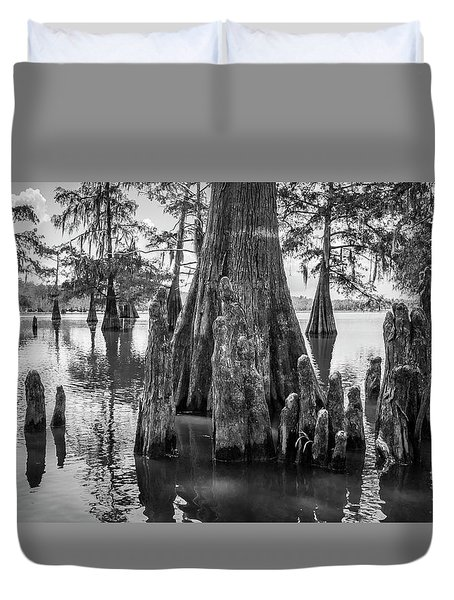 Grand Lake Cypress Duvet Cover