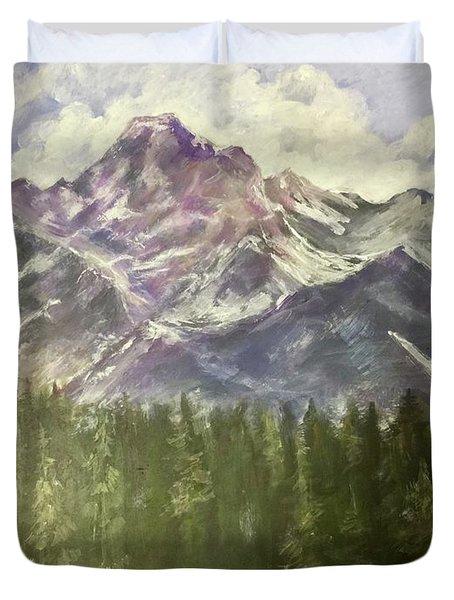 Grand Teton Duvet Cover